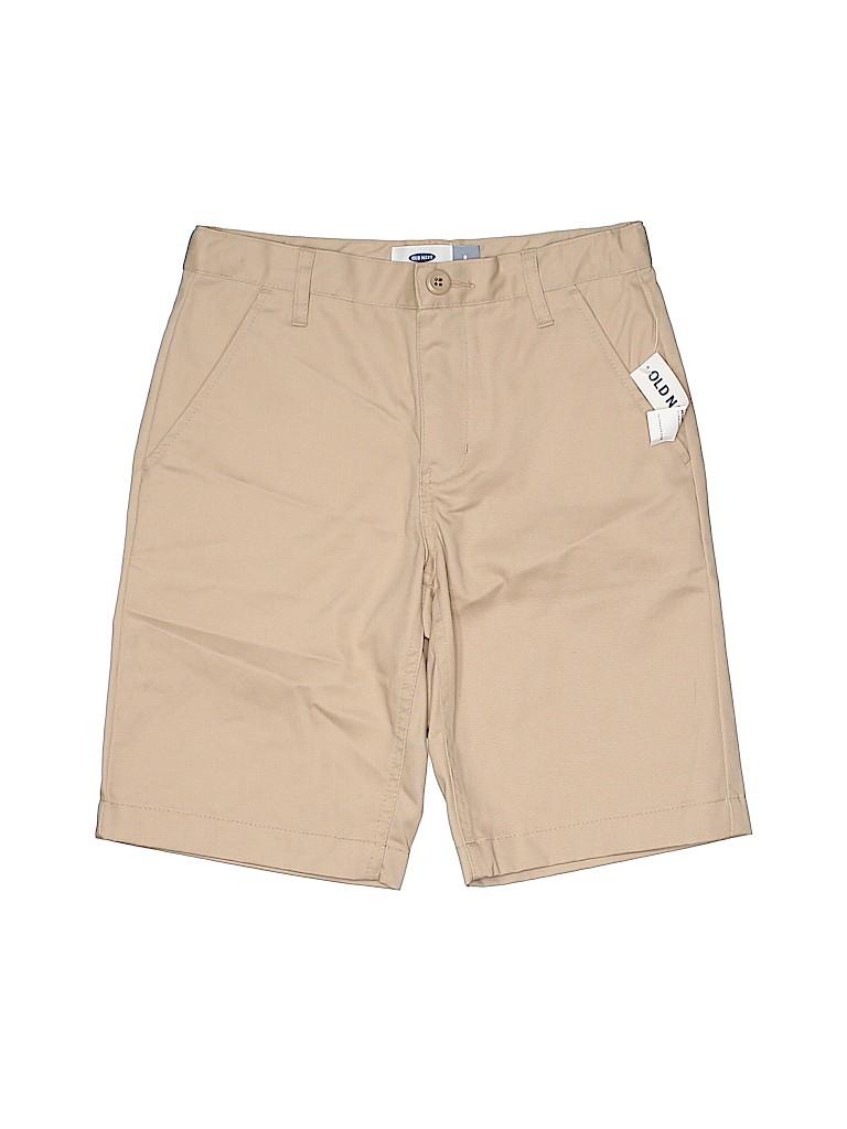 Old Navy Boys Khaki Shorts Size 8