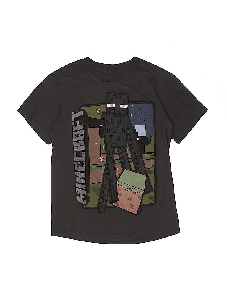 Mojang Boys Short Sleeve T-Shirt Size M (Kids)