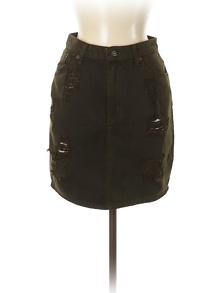 Carmar Women Denim Skirt 28 Waist