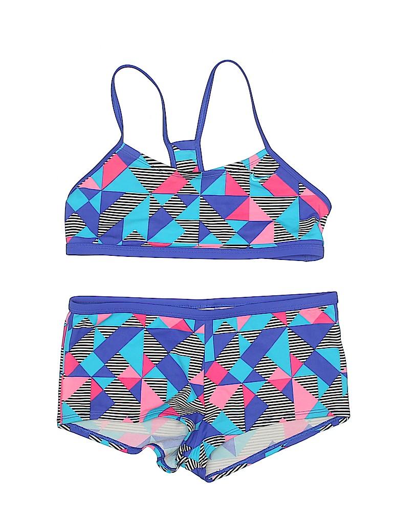 Nike Girls Two Piece Swimsuit Size 12