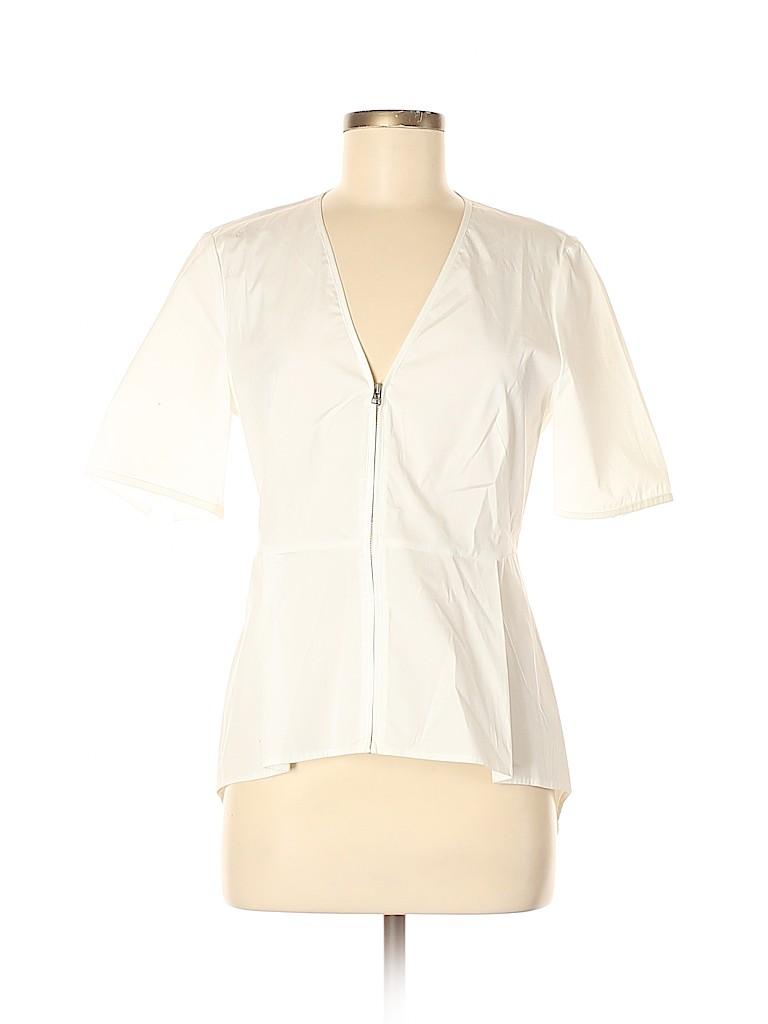 Veronica Beard Women Short Sleeve Blouse Size 6