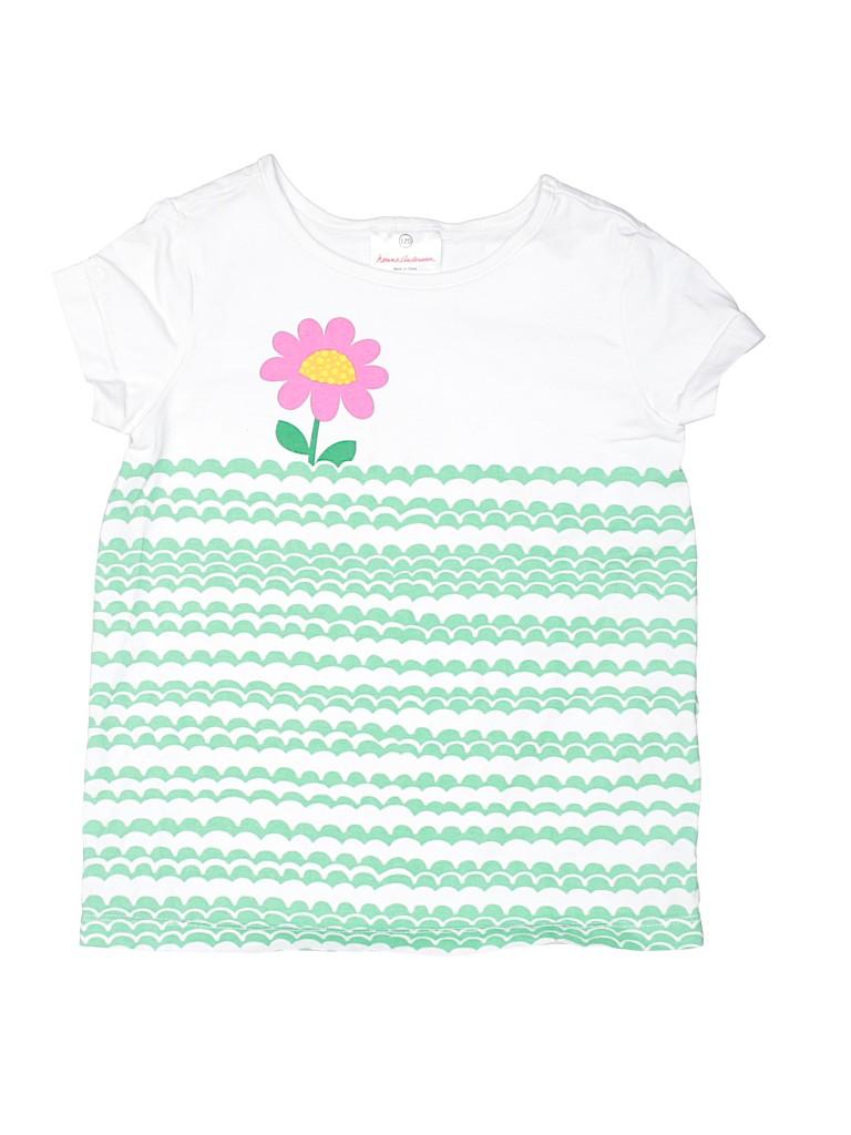 Hanna Andersson Girls Short Sleeve T-Shirt Size 120 (CM)