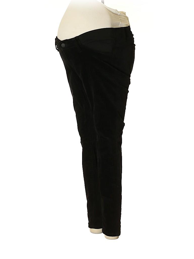 Old Navy Women Velour Pants Size 4 (Maternity)