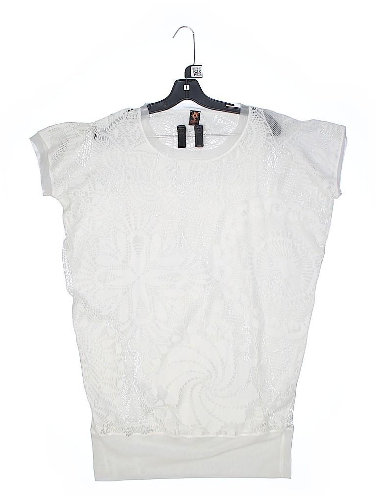 Jean Paul Gaultier Soleil Women Short Sleeve Top Size M