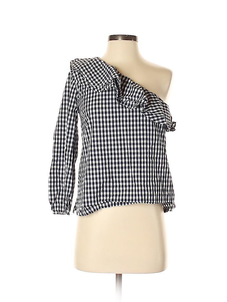 J. Crew Women Long Sleeve Blouse Size 4