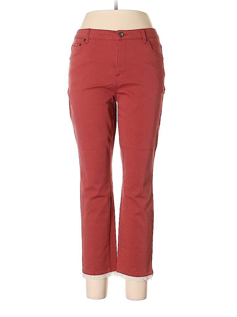 LOGO by Lori Goldstein Women Jeans Size 12