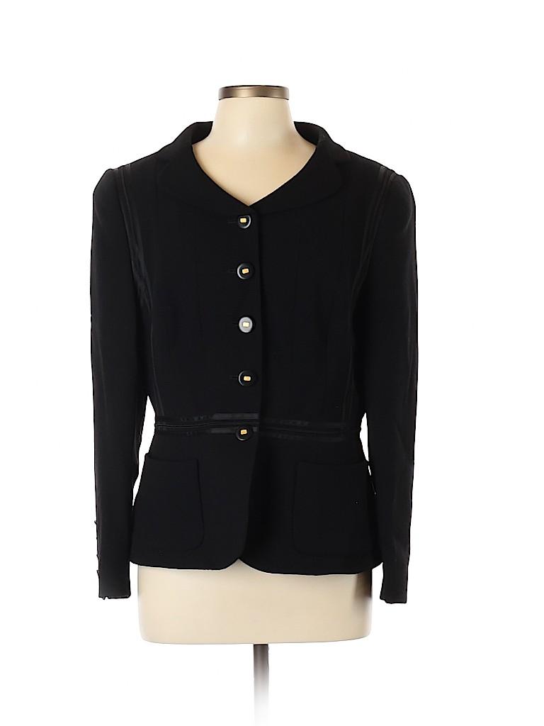 RENA LANGE Women Wool Blazer Size 46 (EU)