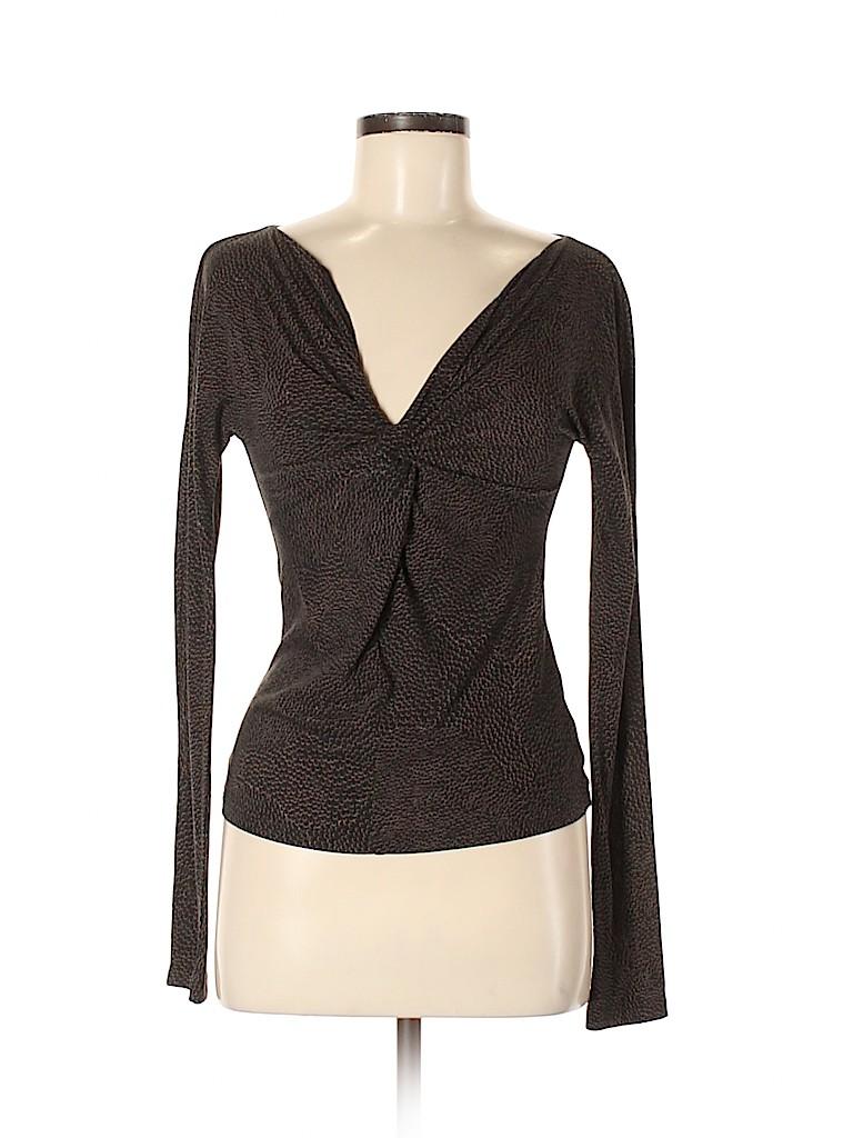 Max Mara Women Long Sleeve Top Size M