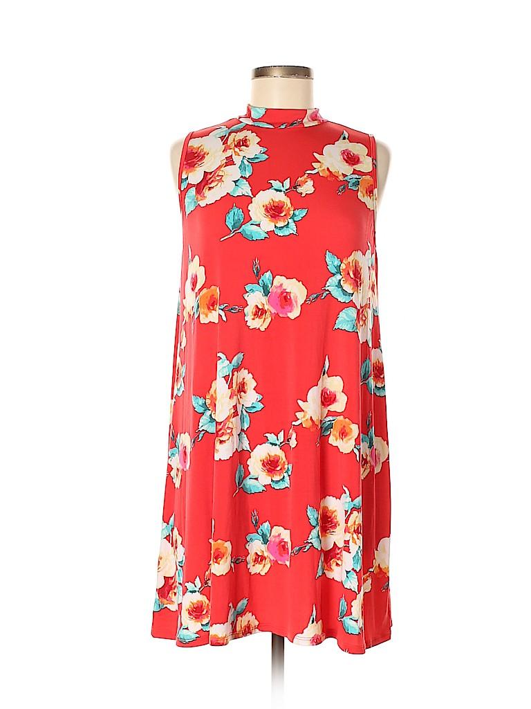 Pink Blush Women Casual Dress Size M (Maternity)