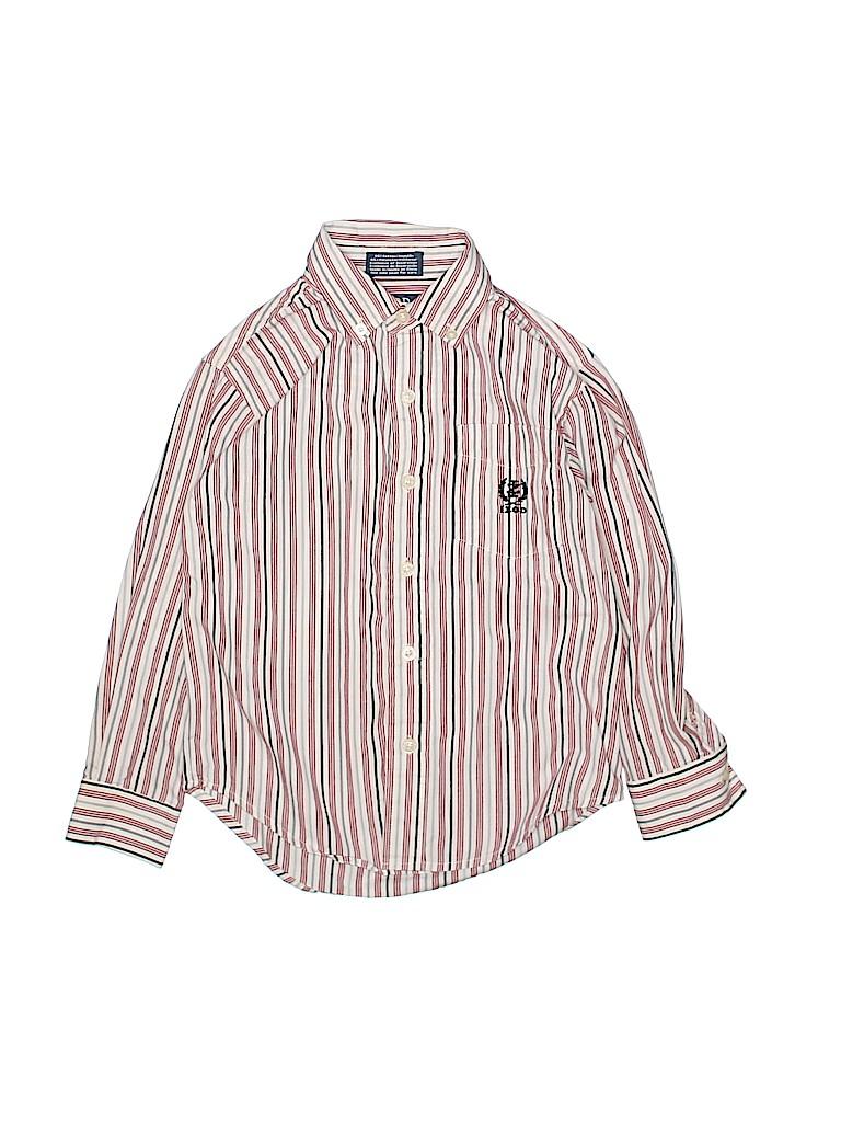 IZOD Boys Long Sleeve Button-Down Shirt Size 5 - 6