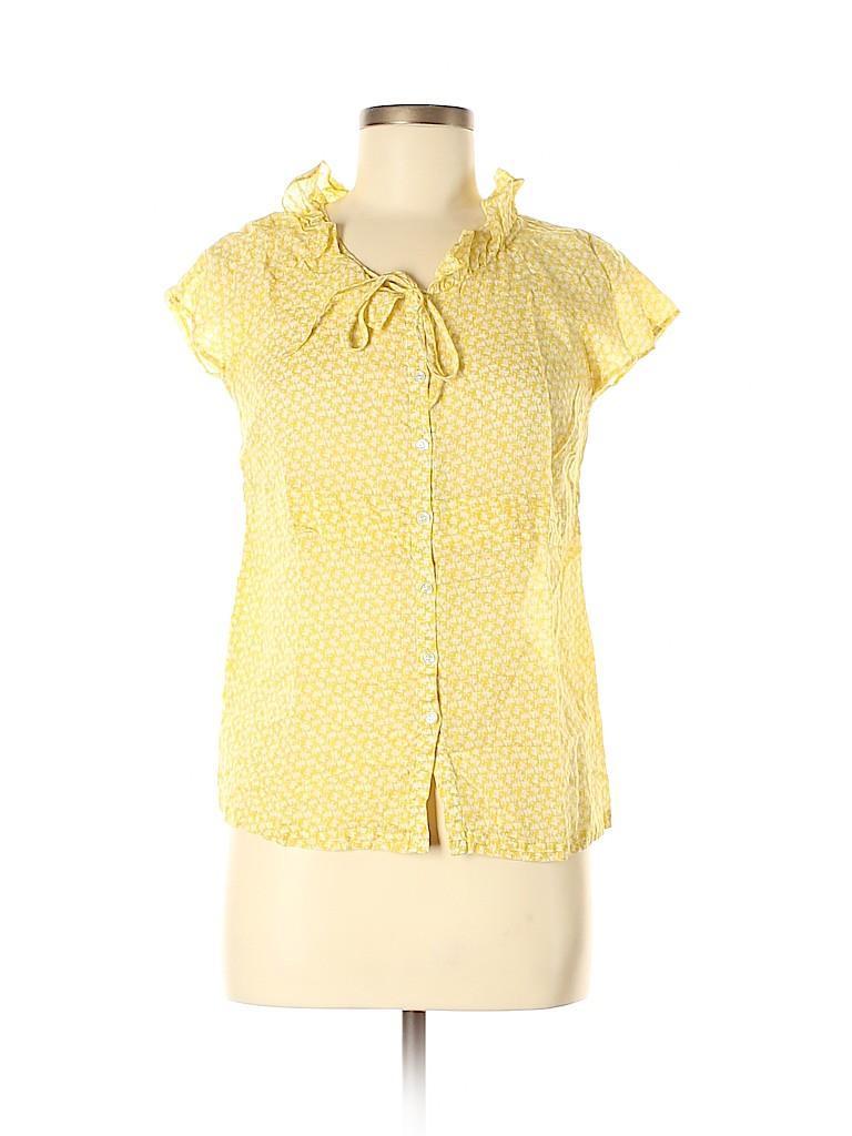 J. Crew Women Sleeveless Button-Down Shirt Size 8