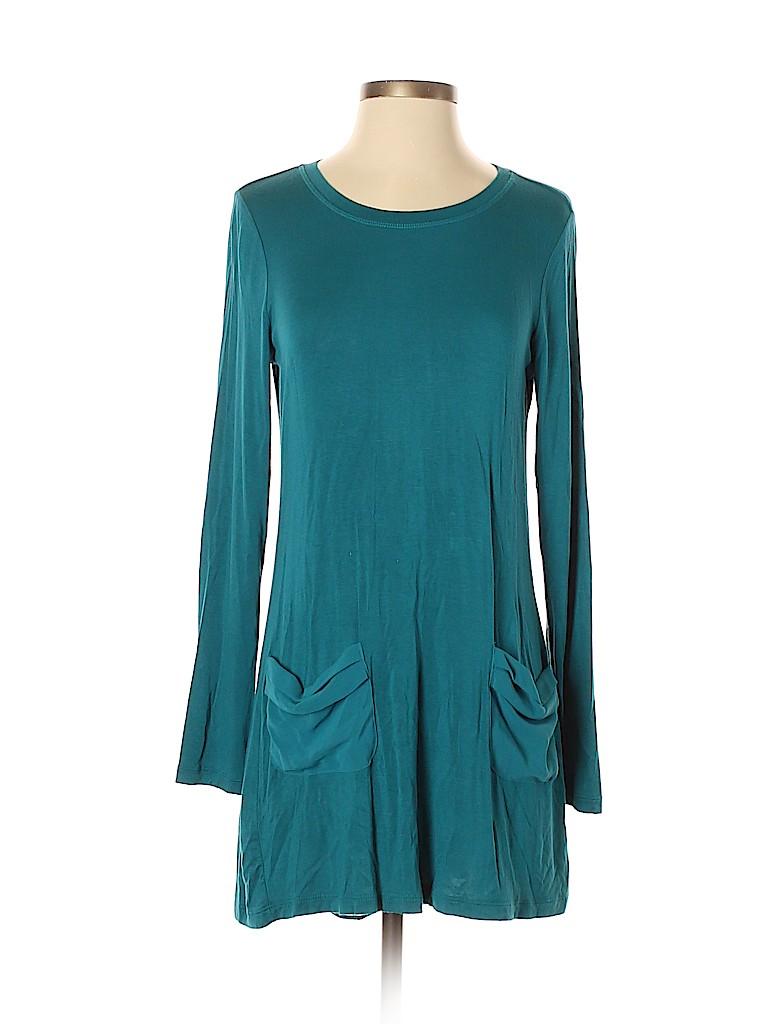 LOGO by Lori Goldstein Women Casual Dress Size XS