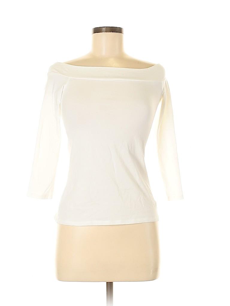 Ann Taylor LOFT Women 3/4 Sleeve Top Size XXS