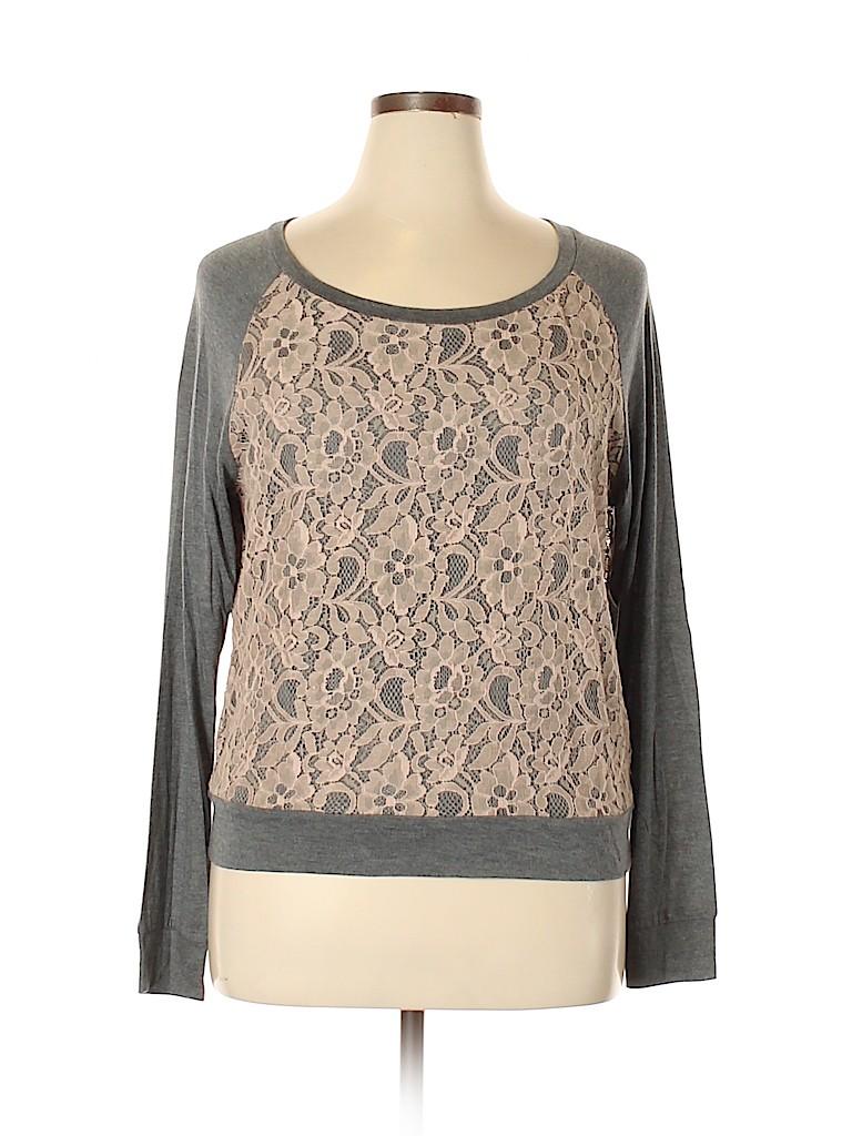Haute Hippie Women Pullover Sweater Size L