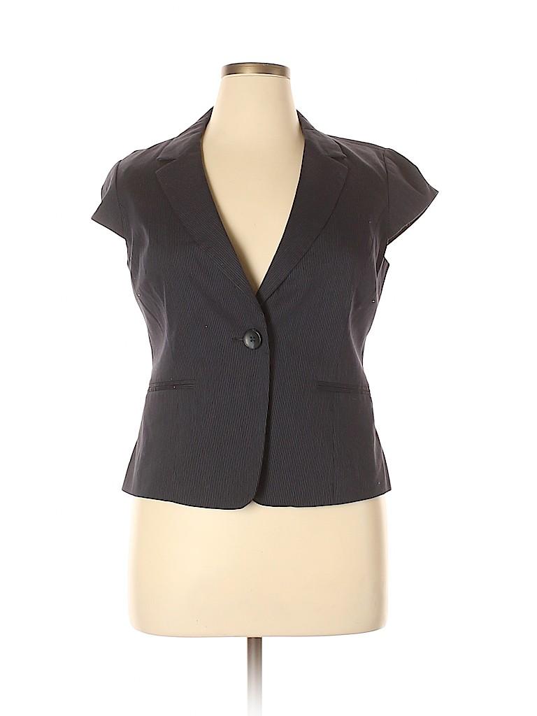 Ann Taylor Factory Women Blazer Size 14 (Petite)