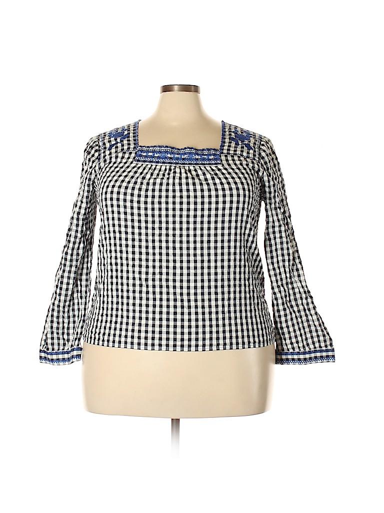 J. Crew Factory Store Women Long Sleeve Blouse Size XXL