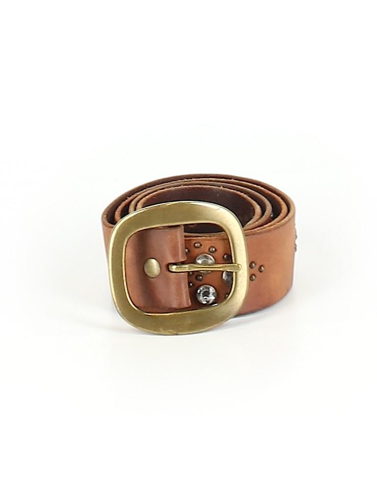 Linea Pelle Women Leather Belt Size M