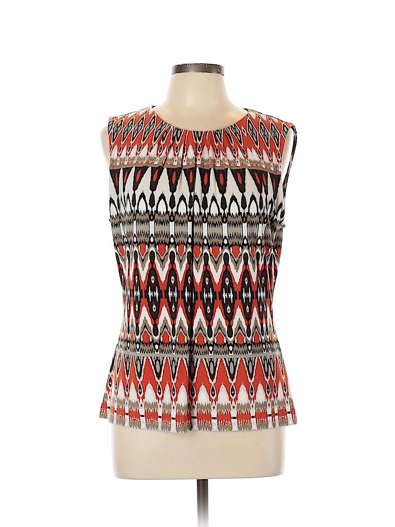 Calvin Klein Women Sleeveless Top Size L