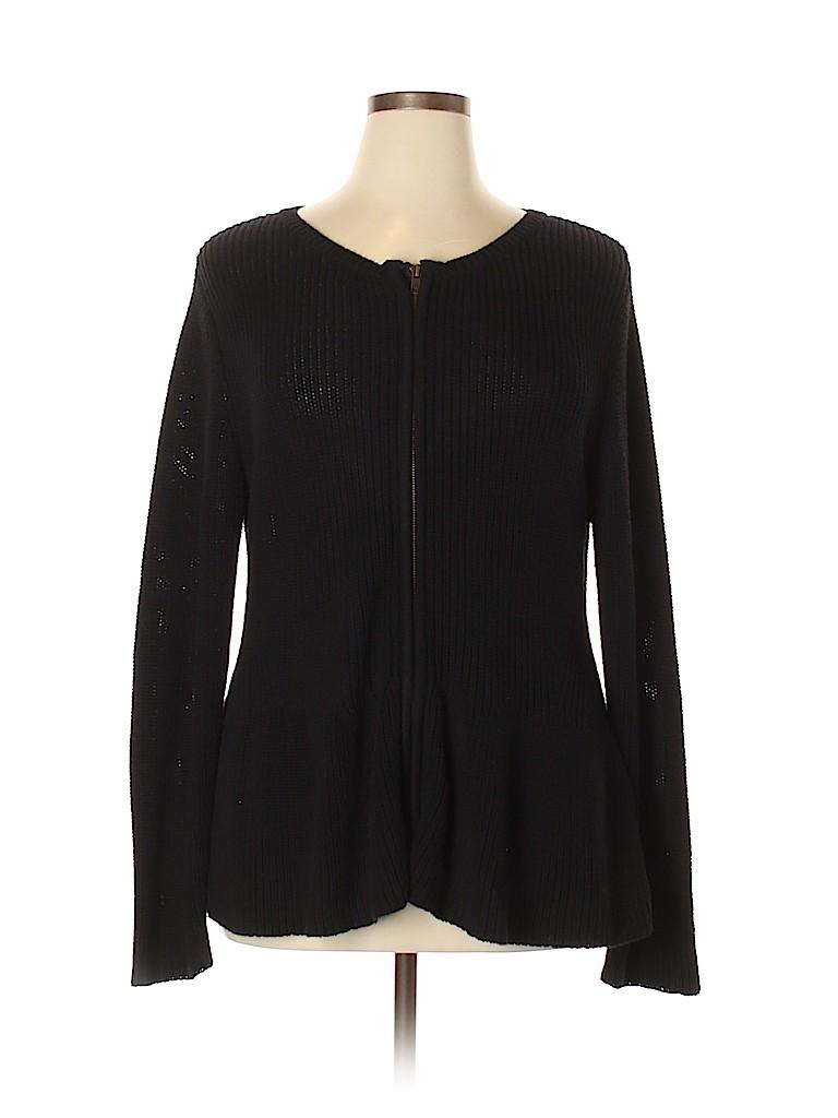 Verve Ami Women Cardigan Size 1X (Plus)