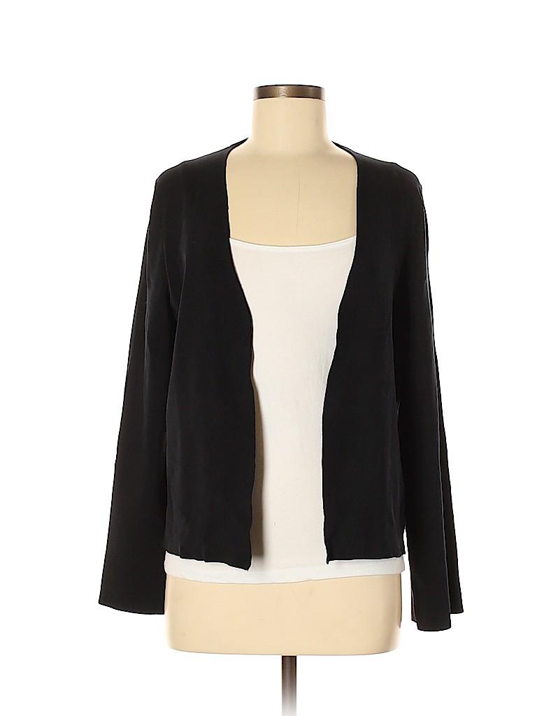 Lafayette 148 New York Women Silk Cardigan Size M