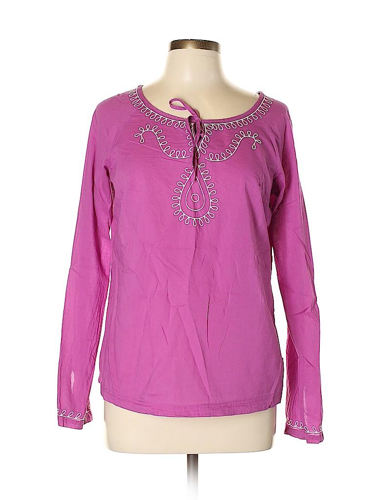 PrAna Women Long Sleeve Blouse Size M