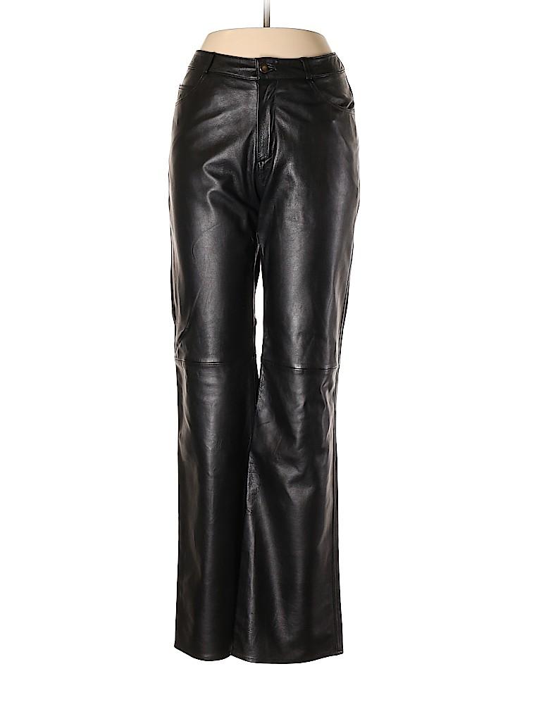 Katia Women Leather Pants Size 8