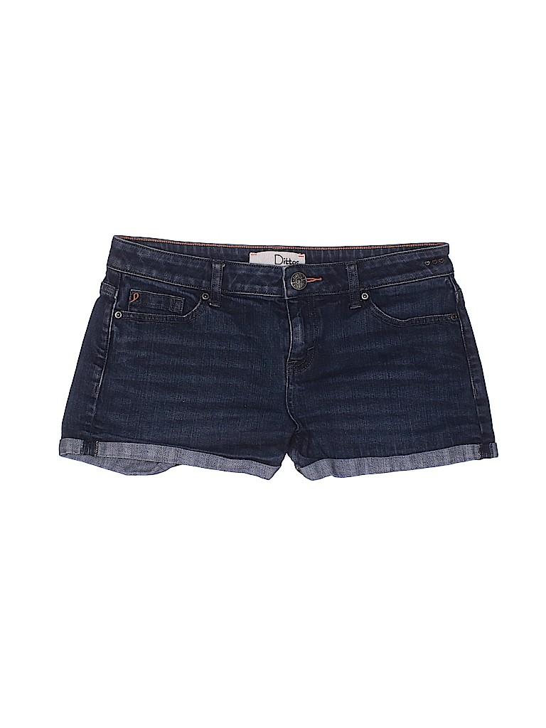 Dittos Women Denim Shorts 28 Waist