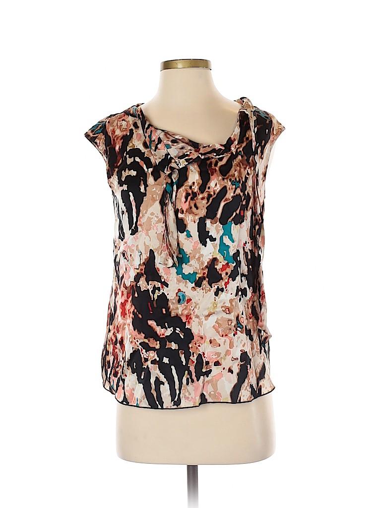 Rachel Roy Women Short Sleeve Silk Top Size XS
