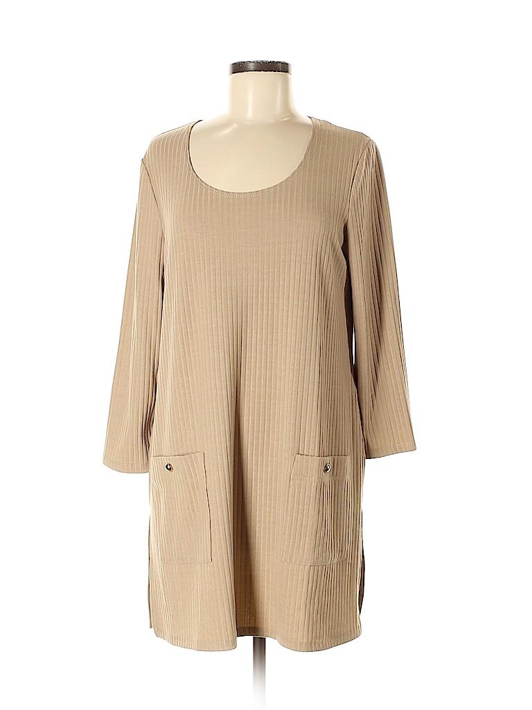 Slinky Brand Women 3/4 Sleeve Top Size M