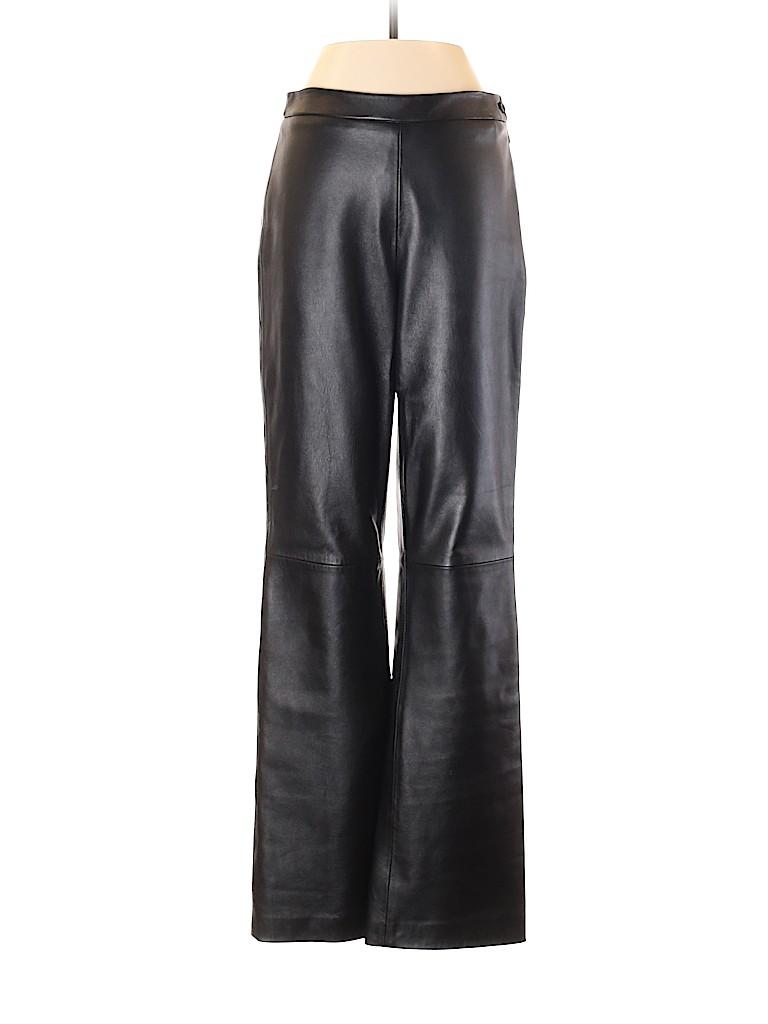 Etcetera Women Leather Pants Size 2