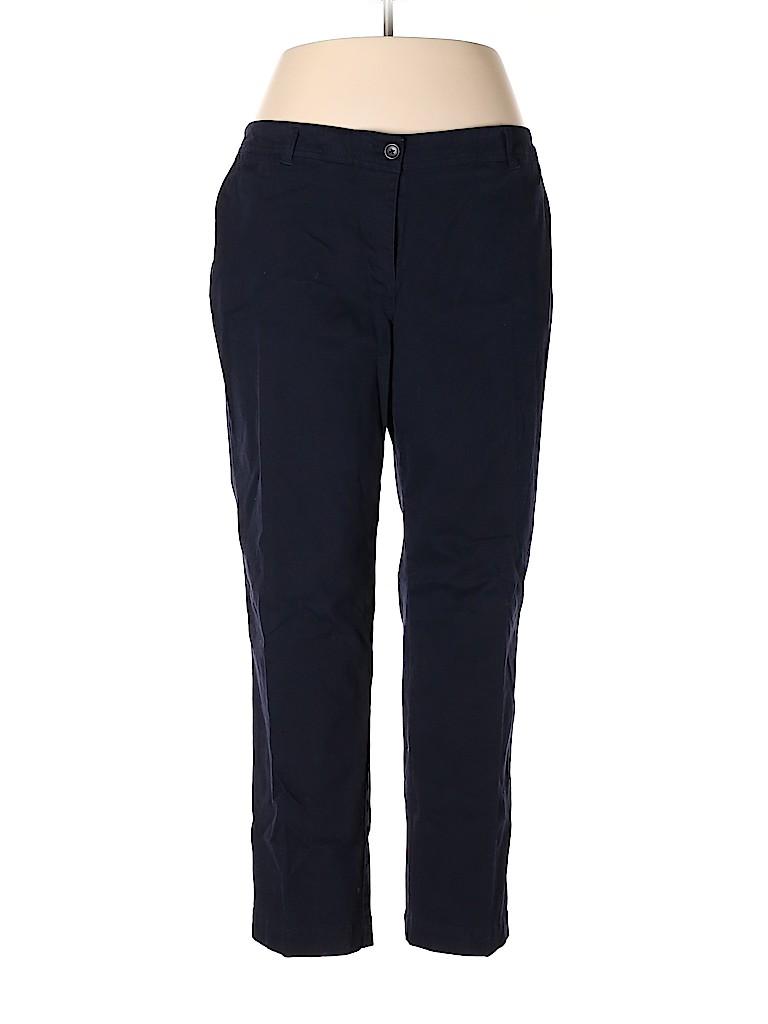 Talbots Women Khakis Size 18wp (Plus)