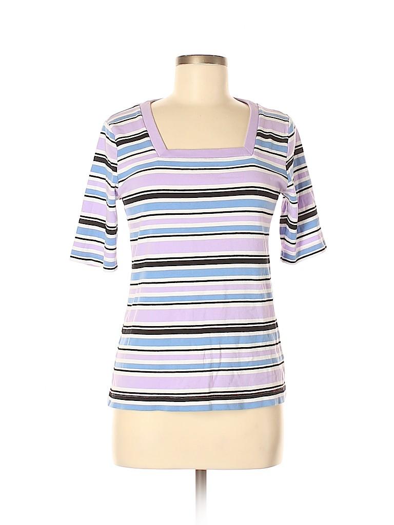 Croft & Barrow Women Short Sleeve T-Shirt Size M