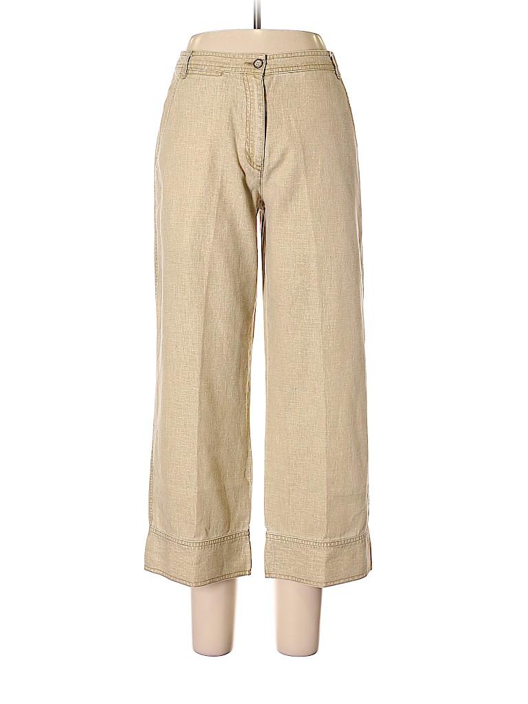 L.L.Bean Women Linen Pants Size 8