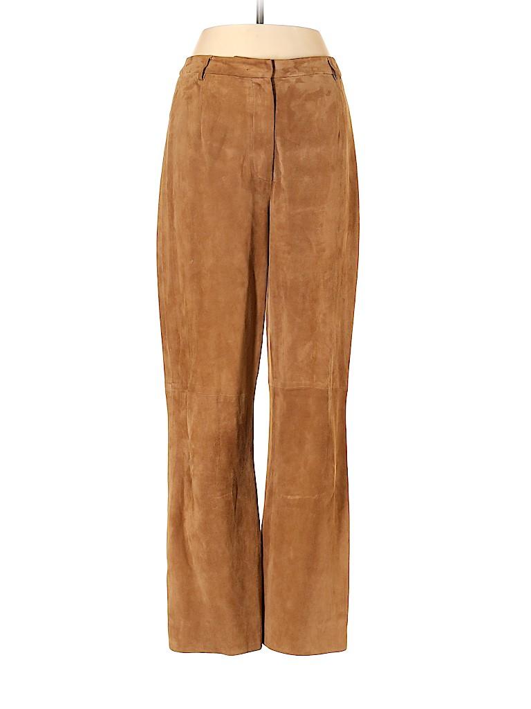 Carlisle Women Leather Pants Size 4