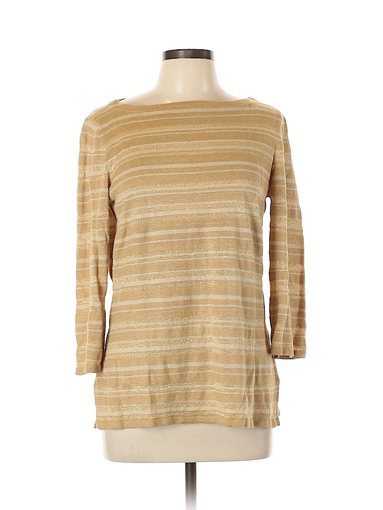Lauren by Ralph Lauren Women 3/4 Sleeve Top Size M