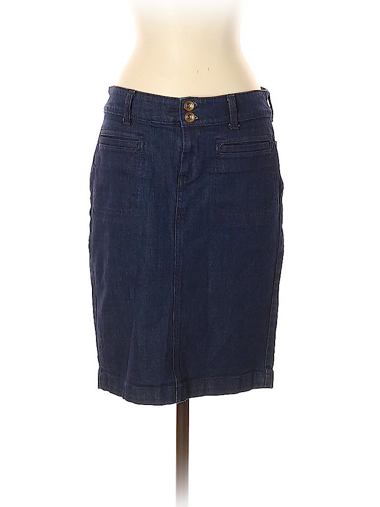 Banana Republic Women Denim Skirt 27 Waist