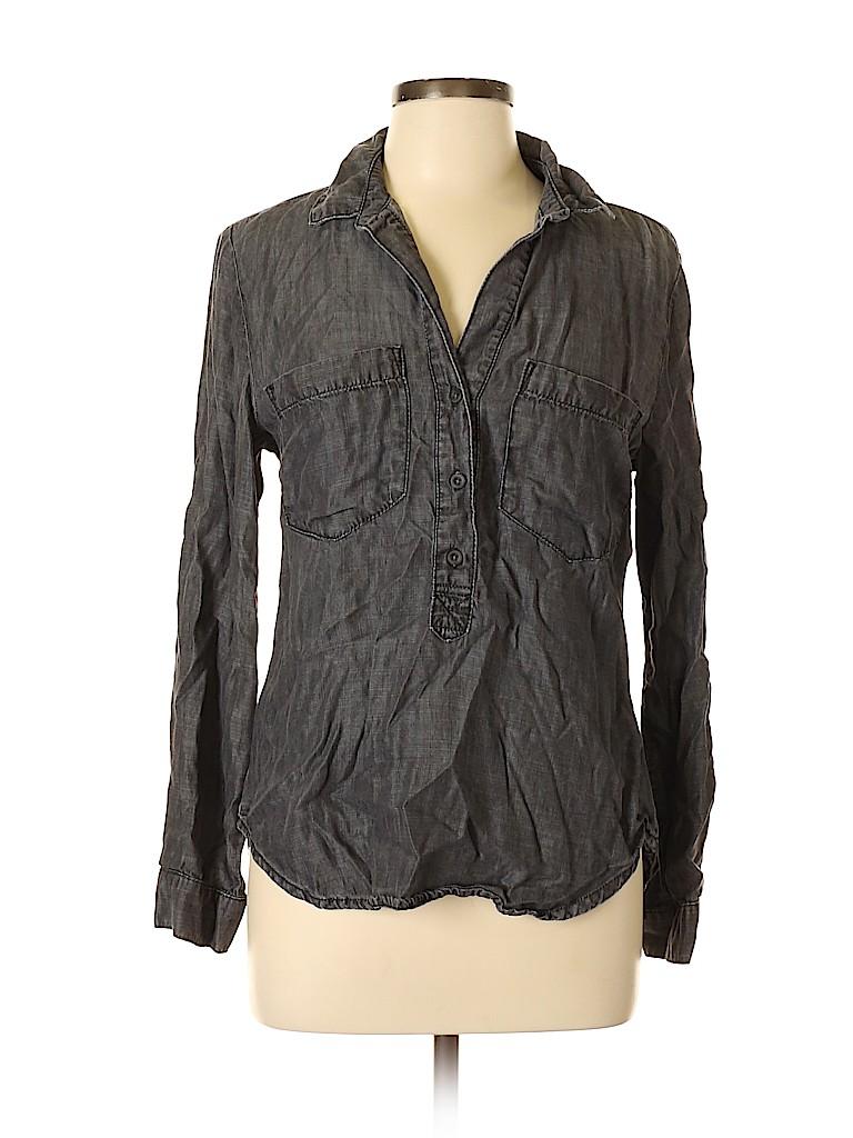 Cloth & Stone Women Long Sleeve Blouse Size M