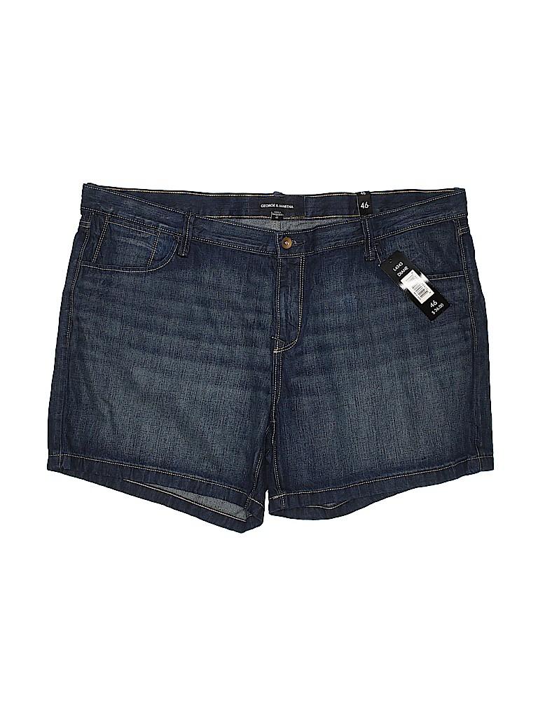 George & Martha Women Denim Shorts Size 46
