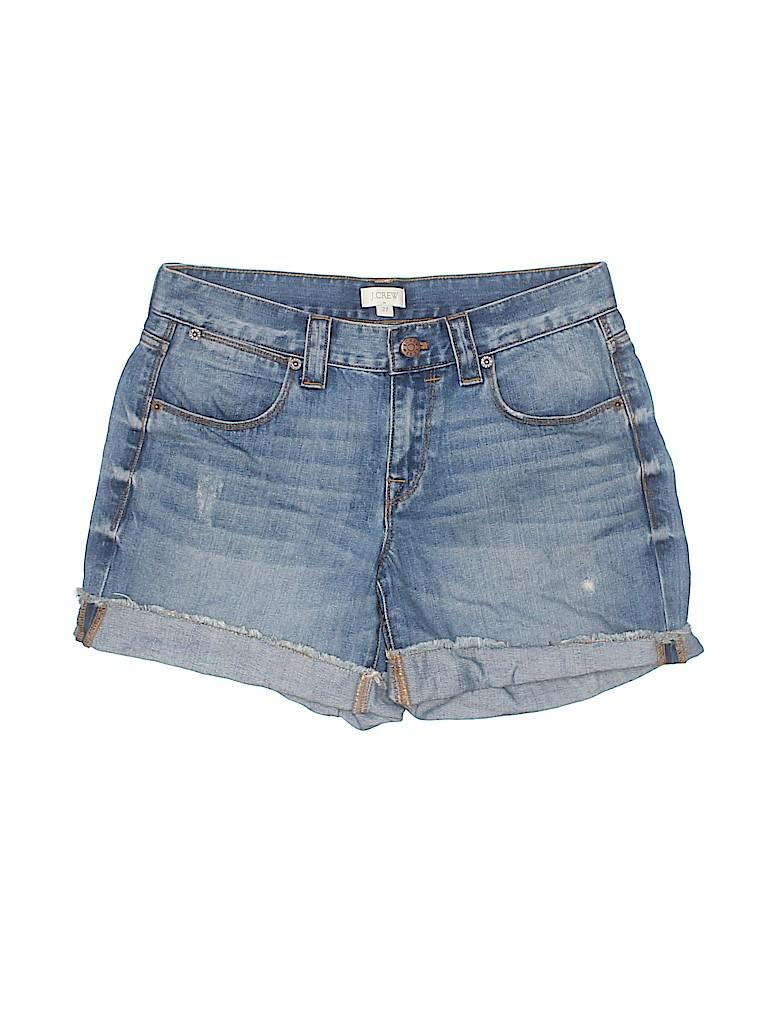J. Crew Factory Store Women Denim Shorts 27 Waist