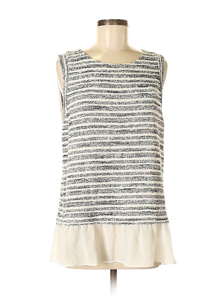 INC International Concepts Women Sleeveless Top Size L