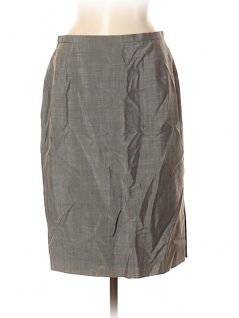 Escada Exclusively for Neiman Marcus Women Wool Skirt Size 40 (EU)