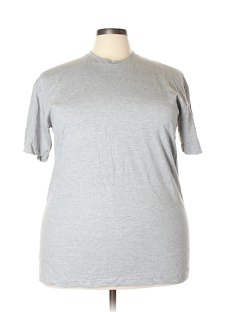 American Apparel Women Short Sleeve T-Shirt Size 2X (Plus)