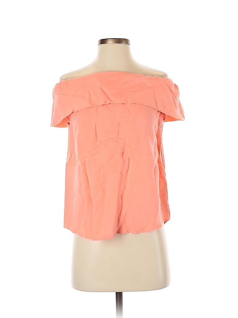 Do & Be Women Short Sleeve Blouse Size S
