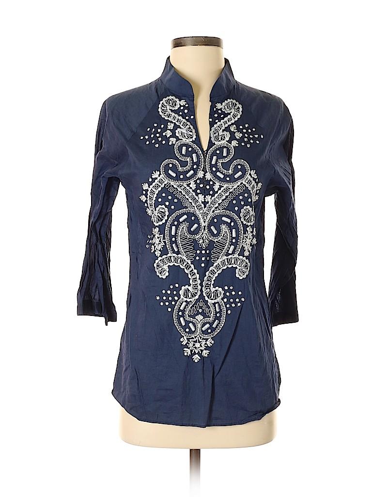 Sachin + Babi for Ankasa Women 3/4 Sleeve Blouse Size S