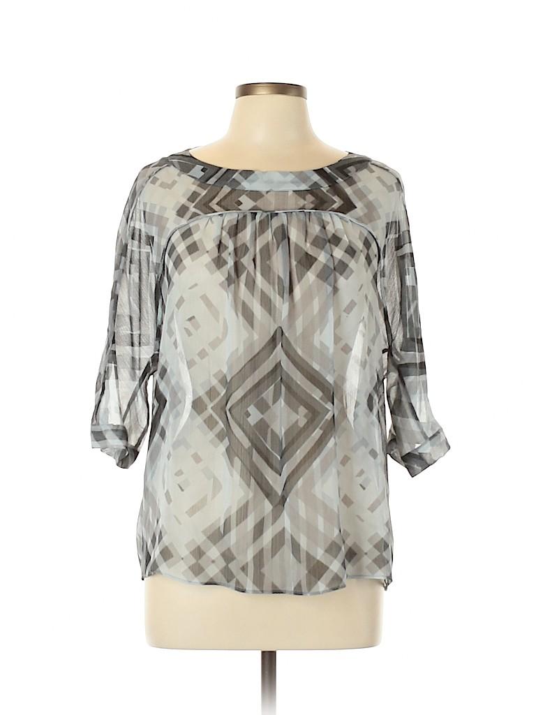Joe Fresh Women 3/4 Sleeve Blouse Size L