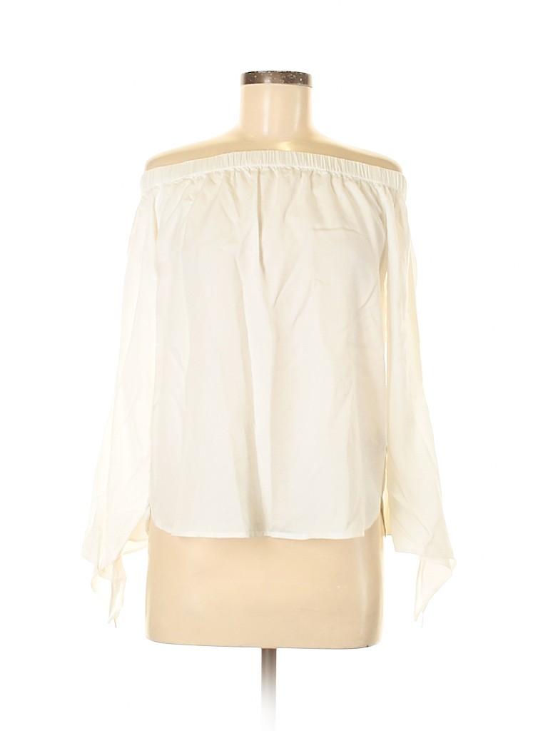 Style Envy Women Long Sleeve Blouse Size M
