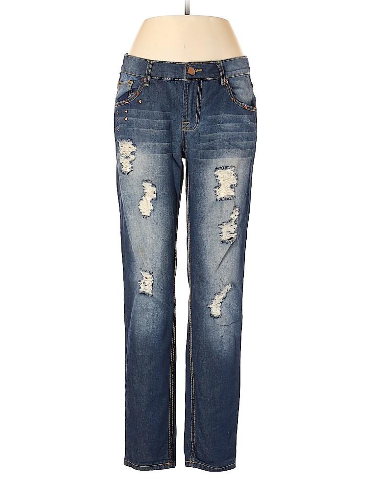 Brand Unspecified Women Jeans 34 Waist