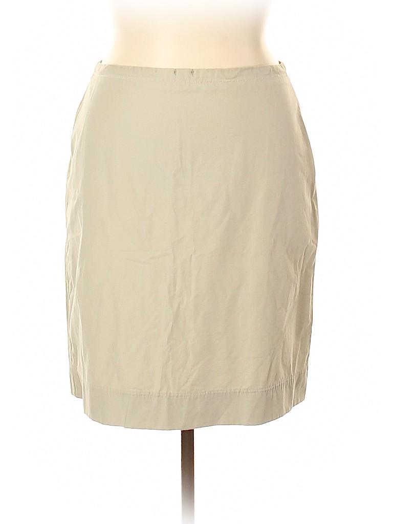 Lands' End Women Casual Skirt Size 16