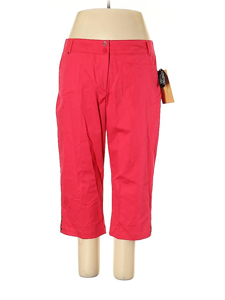 Sag Harbor Women Casual Pants Size 18 (Plus)