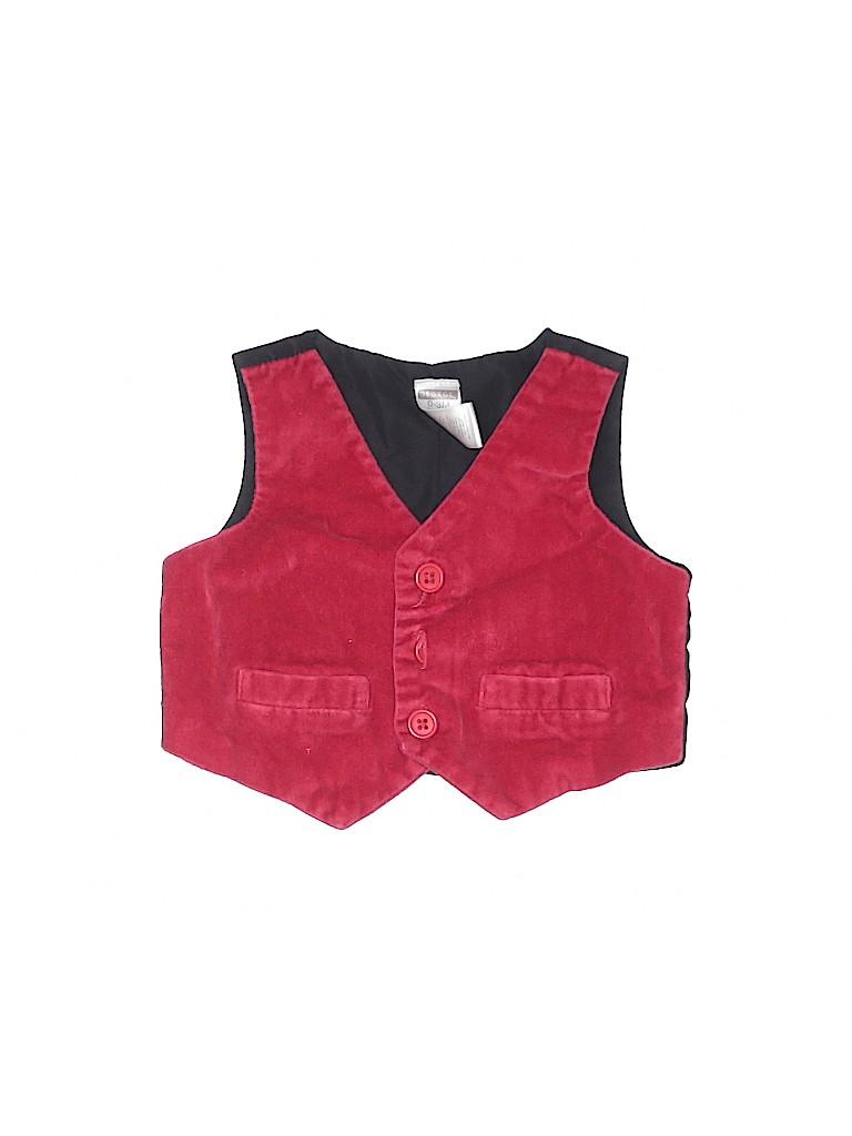 George Boys Tuxedo Vest Size 0-3 mo